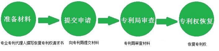 专利权恢复流程